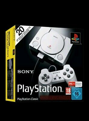 Sony PlayStation Classic with Free 20 Games + 2 controllers and HDMI cables