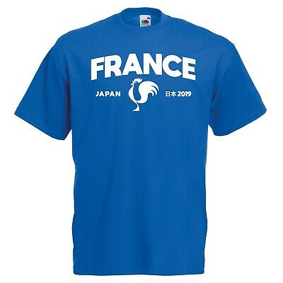 France Varsity Japan RWC T-Shirt - French Rugby World Cup 2019 Japanese Gift Top