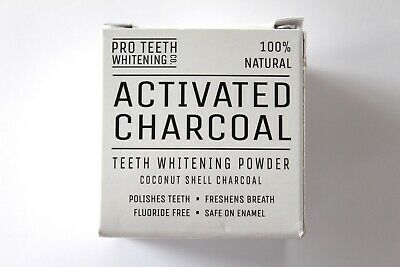 Pro Teeth Whitening Co. 100% Natural Activated Charcoal Teeth Whitening Powder