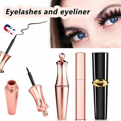 Magnetic Liquid Eyeliner No Glue Long Lasting Fast Drying Makeup Easy Use EA