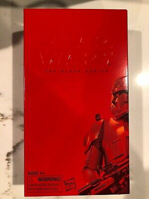 Hasbro Star Wars Black Series Red SITH TROOPER 2019 SDCC Exclusive IN HAND