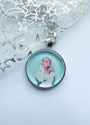 Ariana Grande Photo Key Ring & Lobster Claw Strong Chain Singer  With Gift Box