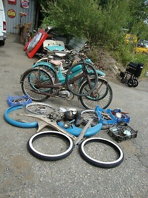 Barn Find 5 Nsu Quickly Mopeds Classic Retro Project Job Lot Quicklys