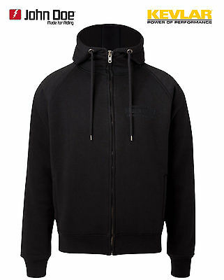 Doe Motorradjacke John GrL Aramid Defense Sweater Hoodie rthQsCd