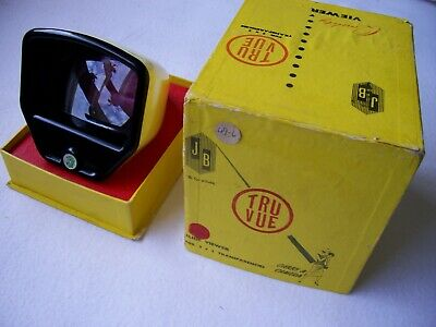 Vintage ''Truvue'' Slide Viewer - For 2 X  2 Transparencies Circa 1960