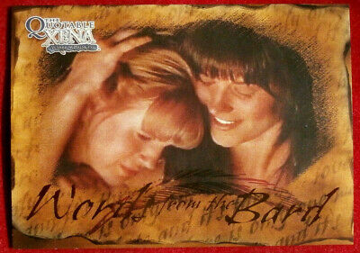 Quotable XENA - Words from the Bard - Individual Chase Card B2 - Forgiveness