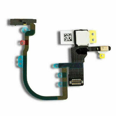 Power Volume Switch Button Flex Cable For iPhone XS Max XS X New+Bracket