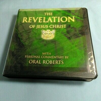 The Revelation of Jesus Christ Bible Commentary by Oral Roberts 7 Disc CD Set