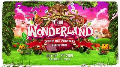 BTID Wonderland 2019 Saturday Event