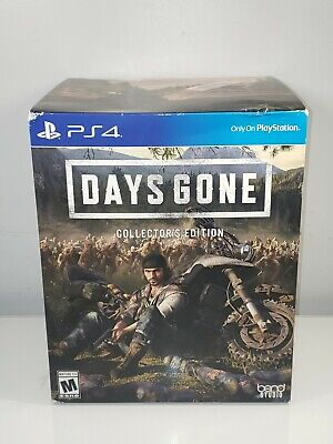 Days Gone Collector's Edition - PlayStation 4 - NEW IN BOX - SEALED