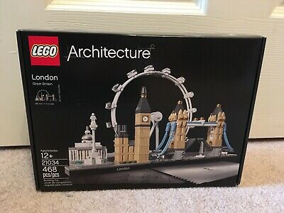 Authentic! LEGO Architecture Skyline Collection London (21034) - Factory Sealed