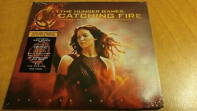 OST HUNGER GAMES CATCHING FIRE 2013 DELUXE CD new! 3 BONUS TRACK IMAGINE DRAGONS