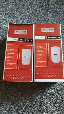 Wireless Pet-Immune PIR Detector Motion Sensor Home Securtity Alarm System x 2