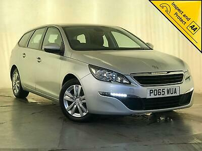 2015 Peugeot 308 Active Sw Hdi Blue S/S Parking Sensors 1 Owner Service History