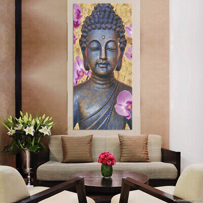 Large Abstract Wall Art Decor Oil Painting Picture-Buddha A-S