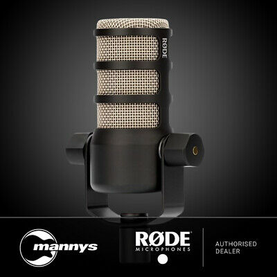 Rode PodMic Broadcast-Grade Dynamic Mic Optimised for RODECaster Pro