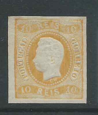 Portugal 1866 10R Mint Hinged See Both Scans For Condition