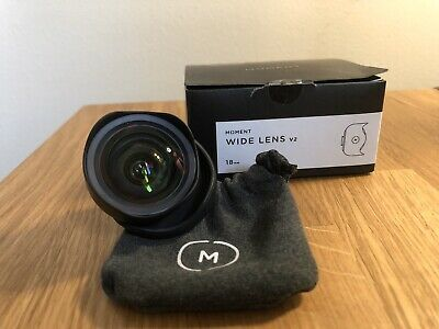 Moment 18mm Wide Lens V2 - Used/Good Condition.