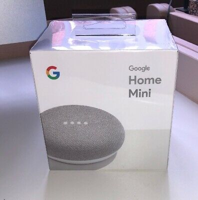 Google Home Mini Assistant  Smart Small Speaker - Chalk Color -  BRAND NEW