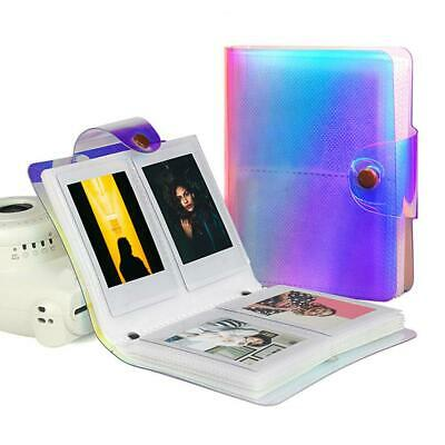 3 Inch 64 Transparent Photo Pocket Album Book for Fujifilm Instax Mini Camera SG