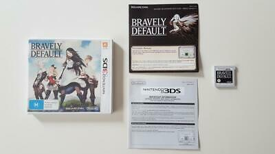 Bravely Default Nintendo 3DS Used SAME DAY FREE SHIPPING