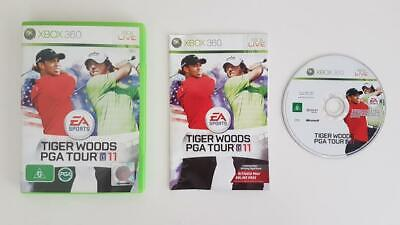 Tiger Woods PGA Tour 11 Xbox 360 Used SAME DAY FREE SHIPPING
