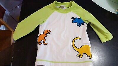 Boys Size 18-24  Months Gymboree Swim/Sun Shirt