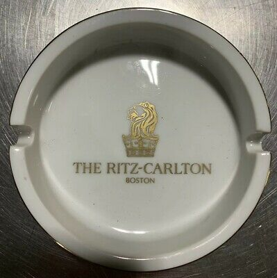 The Ritz-Carlton Boston Hotel vintage ashtray