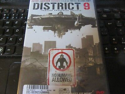 District 9 (DVD, 2009, Canadian)