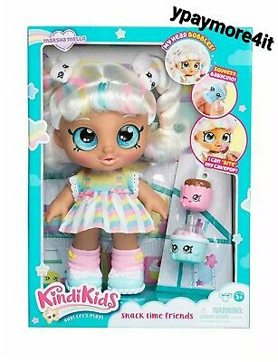 Kindi Kids 10 Inch Baby Doll MARSHA MELLO Snack Time Friends Interact PRE-ORDER