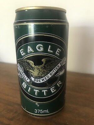 Collectable Eagle Green Bitter Beer Can 375ml