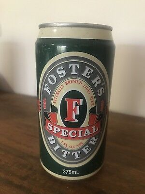COLLECTABLE  BEER CAN, GB Fosters Special Bitters 375ml Beer Can