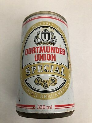 COLLECTABLE Beer Can, Dortmunder Union Special Beer Can Germany 330ml
