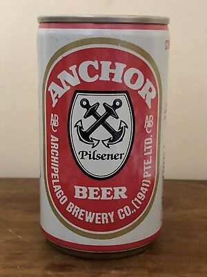 COLLECTABLE  Anchor Pilsener Beer Can 330ml Archipelago Brewery Singapore