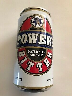 COLLECTABLE 1990 Wally Lewis  Powers Bitter Beer Can 375ml