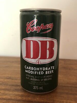 Collectable Coopers DB Modified Beer  375 ml Aluminium Beer Can
