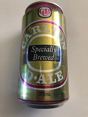 Collectable Carlton D•ALE Specially Brewed BEER CAN 375ml