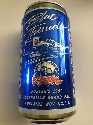 Collectable FOSTERS LAGER 1990 Australian Formula 1 Grand Prix  BEER CAN