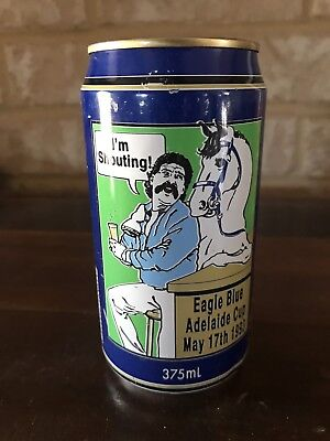 Collectable Eagle Blue Bitter Beer Can Eagle Blue Adelaide Cup 1993
