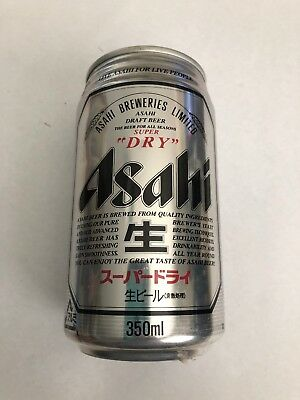 COLLECTABLE BEER CAN, Asahi Breweries Super Dry Draught Beer 350ml