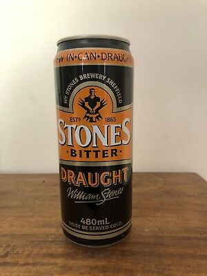 Collectable W Stones Bitter Draught Aluminium Beer Can 480ml UK 🇬🇧