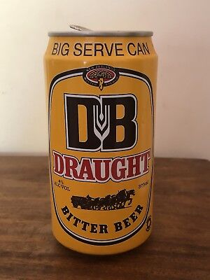 Collectable DB Draught Bitter BEER CAN 375ml  1990 New Zealand Master Brewer