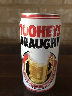 Collectable Tooheys Draught Aluminium Beer Can