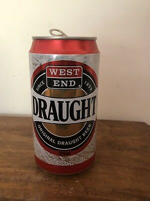 COLLECTABLE West End Draught BEER CAN Full Print Can