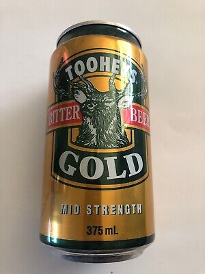 Collectable Tooheys Gold Bitter Beer  375ml  BEER CAN  NSW