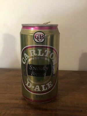 Collectable Carlton D-Ale  VIC 375ml Aluminium Beer Can Empty