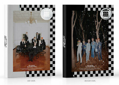 NCT DREAM - WE BOOM [WE+BOOM ver. SET] CD+Photobook+Poster+Free Gift+Tracking No