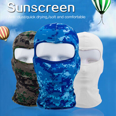 Outdoor Travel Motorcycle Cycling Ski Windproof Balaclava Neck Full Face Mask