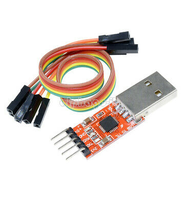 1X CP2102 USB 2.0 to TTL UART Serial Converter Module 5P STC PRGMR with cable