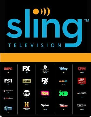 Sling TV $45 Credit Code - ($15 off monthly for 3 months) - Quick Delivery